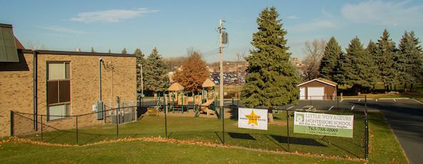 yard and playground